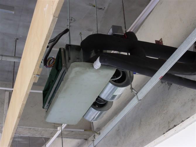风机盘管与风管安装